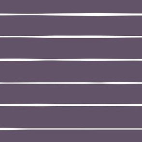 purple freehand Horizontal stripes stripes lines hand drawn organic fabric gift wrap wrapping paper wallpaper