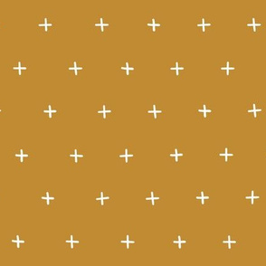 golden turmeric yellow cross lus swiss cross swiss crosses scandi fabric gift wrap wrapping paper wallpaper