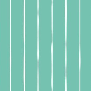 bubblegum green spearmint vertical lines vertical stripes striped stripes kids fabric gift wrap wrapping paper wallpaper