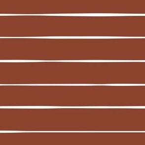 rust red Horizontal stripes stripes lines freehand hand drawn gift wrap fabric wallpaper wrapping paper christmas wrap