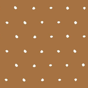 golden yellow mustard dark Dots Spots Dotty Spotty gift wrap fabric wallpaper wrapping paper