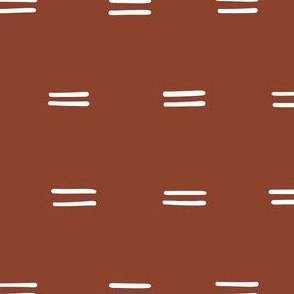 rust red parallel lines horizontal lines mud cloth simple christmas gift wrap fabric wallpaper wrapping paper