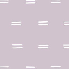 light purple lilac mauve Freehand parallel lines horizontal lines mud cloth simple gift wrap fabric wallpaper wrapping paper