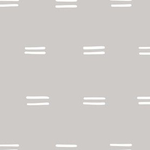gray Freehand parallel lines horizontal lines mud cloth simple fabric