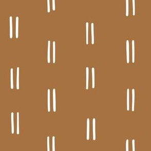 dark tan mustard Scandi parallel lines horizontal lines mud cloth simple wallpaper gift wrap fabric