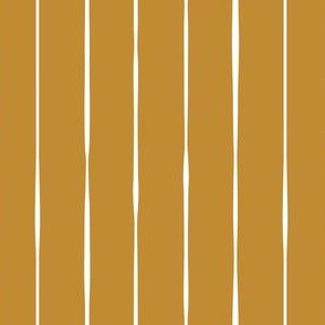 golden mustard yellow Basic vertical lines vertical stripes striped stripey wallpaper gift wrap fabric