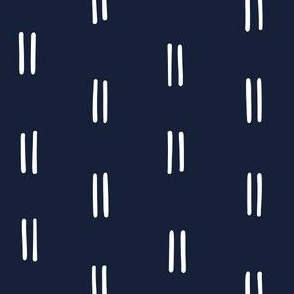 dark blue Freehand parallel lines horizontal lines mud cloth simple wallpaper gift wrap fabric