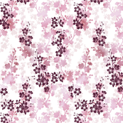 Cherry blossom in light rose pink