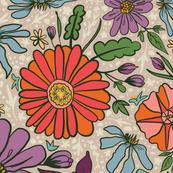 Saint Anthony Park Gardens (grandma's quilt)
