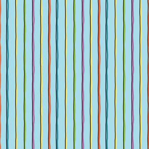 Whim Stripe Blue BG