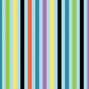 Whim Studio Wide Stripe Blue BG