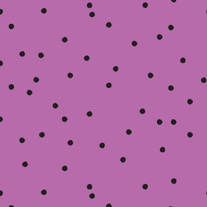 Small Dots Repeat Purple BG