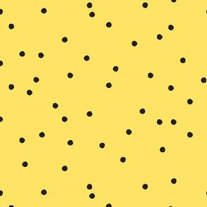 Small Dots Repeat Yellow BG
