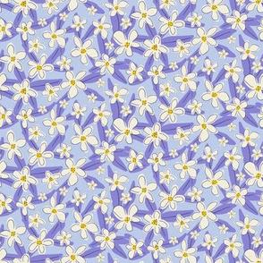 Flower Patch on Purple