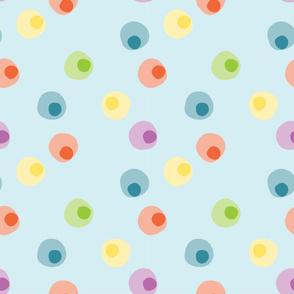 Candy Pop Pastel Dots