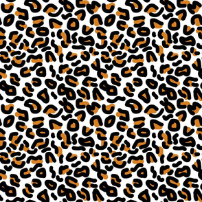 Animal Print - leopard (brown) - medium