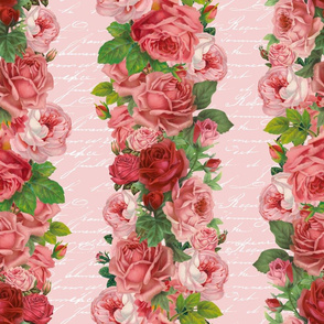 Vintage Rose Stripes_4