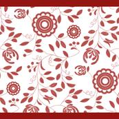 Tea towel - embroidery - Ingrid