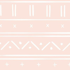 1 // african inspired mudcloth fabric wallpaper gift wrap ethnic mud cloth fabric pale pink