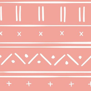 1 // african inspired mudcloth fabric wallpaper gift wrap ethnic mud cloth fabric rose pink and white