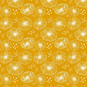 Poppies - Mustard
