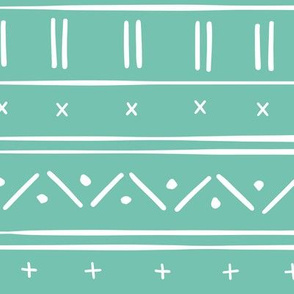 1 // african inspired mudcloth fabric wallpaper gift wrap ethnic mud cloth fabric spearmint bubblegum green