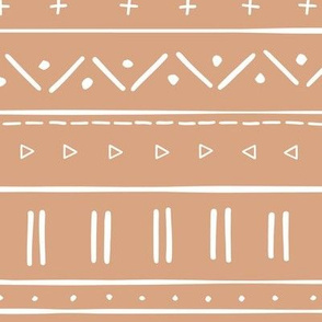 2 // african inspired mudcloth fabric wallpaper gift wrap ethnic mud cloth fabric tan natural taupe