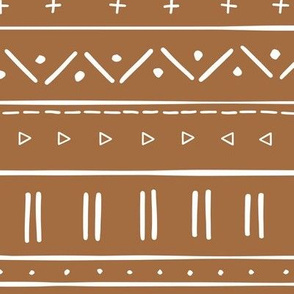 2 // african inspired mudcloth fabric wallpaper gift wrap ethnic mud cloth fabric brown and white clay earth tone