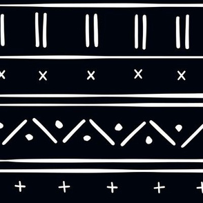 2 // african inspired mudcloth fabric wallpaper gift wrap ethnic mud cloth fabric black and white