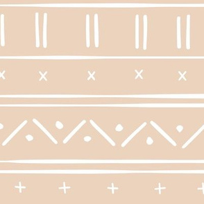 1 // african inspired mudcloth fabric wallpaper gift wrap ethnic mud cloth fabric light ballet pink and white