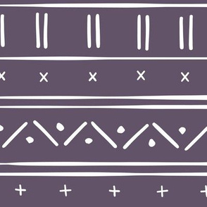 1 // african inspired mudcloth fabric wallpaper gift wrap ethnic mud cloth fabric purple and white