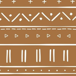 2 // african inspired mudcloth fabric wallpaper gift wrap ethnic mud cloth fabric clay earth tone brown