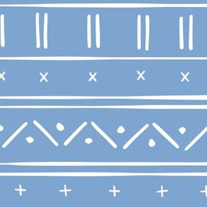 1 // african inspired mudcloth fabric wallpaper gift wrap mud cloth fabric blue and white