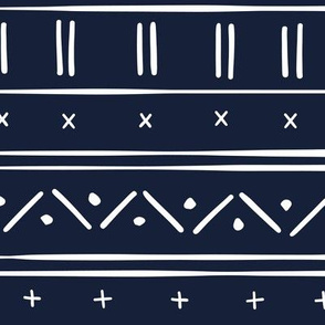 1 // african inspired mudcloth fabric wallpaper gift wrap mud cloth fabric navy blue and white