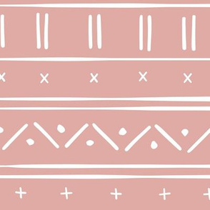 1 // african inspired mudcloth fabric wallpaper gift wrap mud cloth fabric warm dusty pink