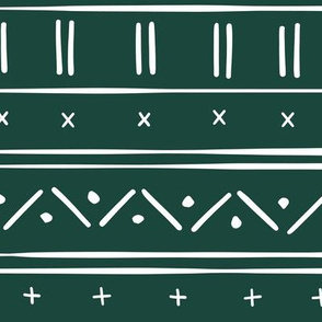 1 // african inspired mudcloth fabric wallpaper gift wrap mud cloth fabric emerald green