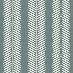 Laurel Leaf custom Anne fabric Deep sage