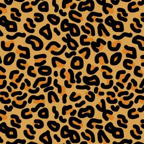 Wild Leopard Animal Print #4