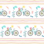 Summer Fun3 signs  Beach bike mint LG93