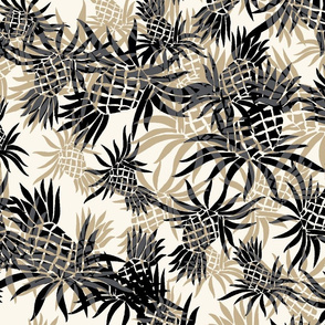 Hawaiian Pineapple Camo - Large Size- Neutral