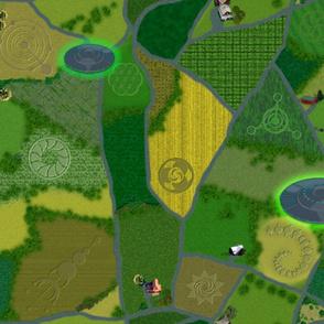 Crop Circle Fields