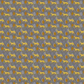 Yellow greyhound