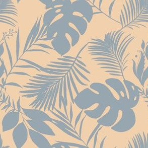 Exotic Jungle Birds_15 Coordinating Pattern