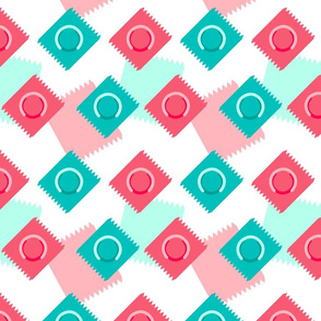 Safety First wallpaper - uglifruit - Spoonflower