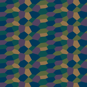 John Sohm Lozenge Pattern Sixth Scale Dark
