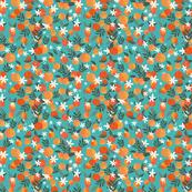 Happy Oranges Turquoise