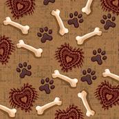 Dog plaid