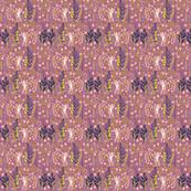 """4"""" Pink Tiger - Violet"""