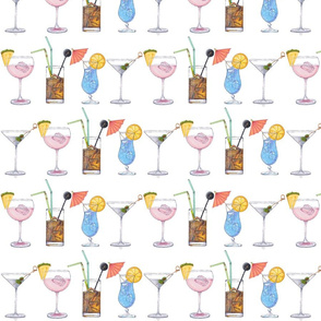 Cocktails - White Background