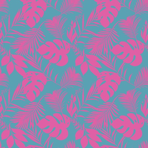 Jungle Birds Tropical Paradise_3 Coordinating Pattern